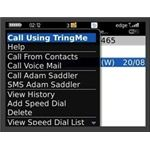 call using tringme