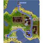 Go To Brimhaven and enter the Dungeon