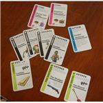 There are different types of cards in Zombie Fluxx