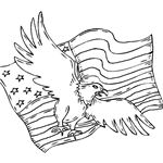 American Eagle Coloring Sheet