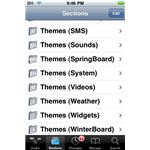 Cydia: Download Themes