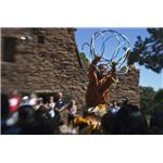 Native American performer at Grand Canyon.