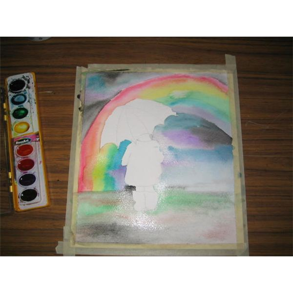 Step By Visual Step Watercolor Painting Project Paint A