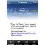 Britannica Concise Encyclopedia 2010 iPhone App
