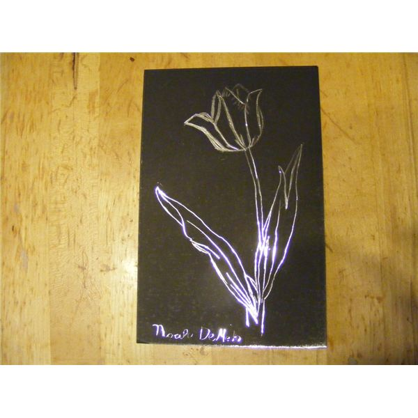 This Creative Scratch Art Lesson Plan Is a Perfect Art ... Simple Drawing In Pencil