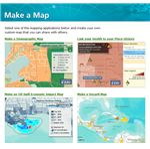 Esri.com map type selection
