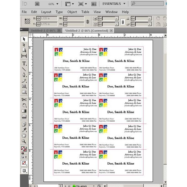 Try These Blank InDesign Business Card Templates to Save Time and ...