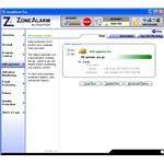 Anti-Spyware Window of ZoneAlarm