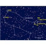 Star Map of Gemini