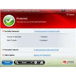 Trend Micro Titanium Internet Security features a simple user interface