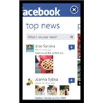 Official Facebook app for Windows Phone 7