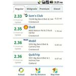 gasbuddy gas station listing
