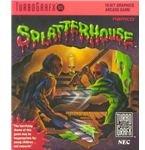 Splatterhouse - Original TurboGrafx-16 Box Art