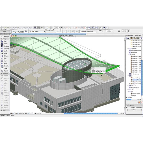 Commercial building design software programs joy studio for Commercial building design software