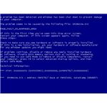 """Blue screen of death"" by Praseodymium/Wikimedia Commons"