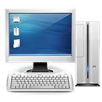 Desktop PC by Everaldo Coelho/Wikimedia Commons (GNU)