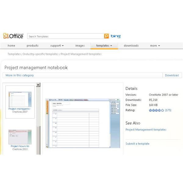 Using ms onenote project management for organization collaboration when onenote001 installed this template gives project managers pronofoot35fo Image collections