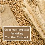 Great Free Templates for Making Your Own Cookbook