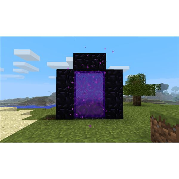 minecraft how to build a big nether portal