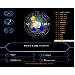 Simpsons Millionaire - simpsons games to play online
