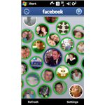 Experience Facebook with the free Sony Ericsson Xperia X-Panel