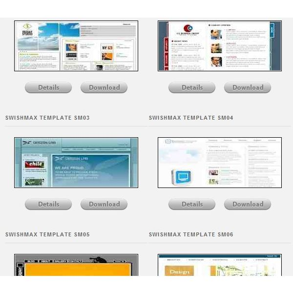 free swish templates great resources for web designers