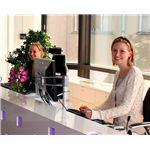 """Receptionists at DICE in Stockholm"