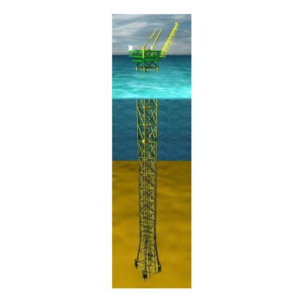 Offshore Production Platforms And Oil Rigs For Drilling