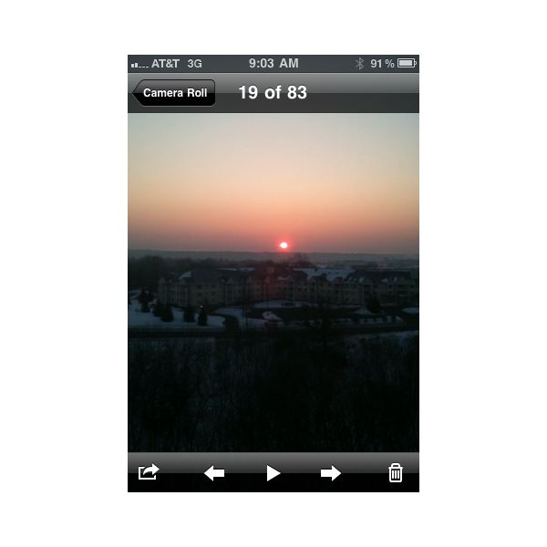 how to stop a picture from sending on iphone