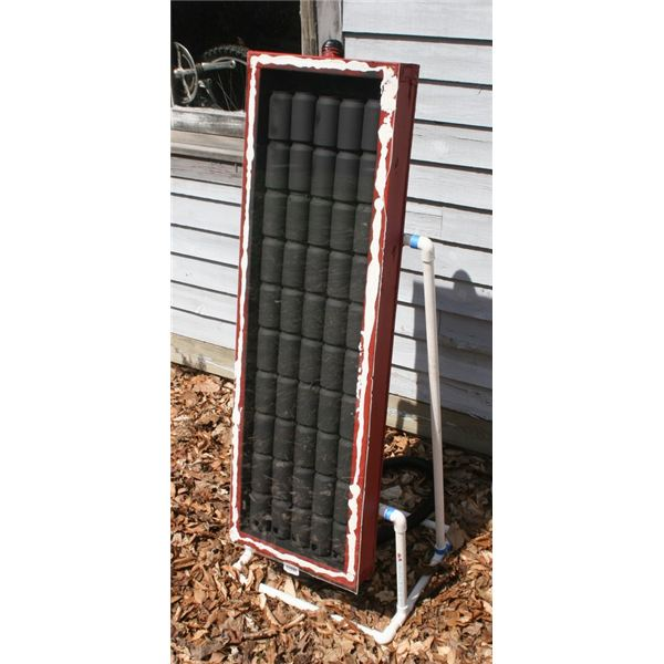 How to make solar space heater for your garage or enclosed for Green heaters for home