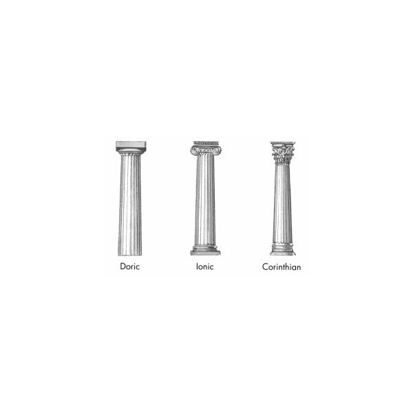 Classical Greek Architecture Doric Ionic And Corinthian Styles