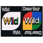 40th Anniversary Edition Uno Card Game Wild Cards
