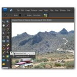 Location of the Smart Brush Tool in Photoshop Elements 7