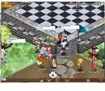 Gaia Online - village entrance screenshot