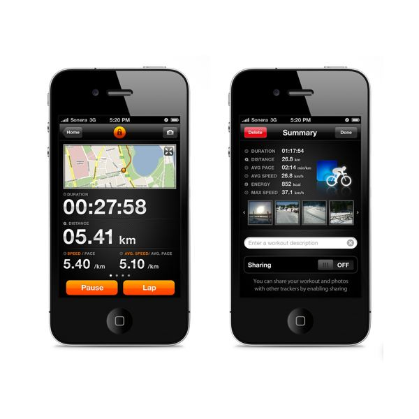 Get in Shape with Sports Tracker iPhone App