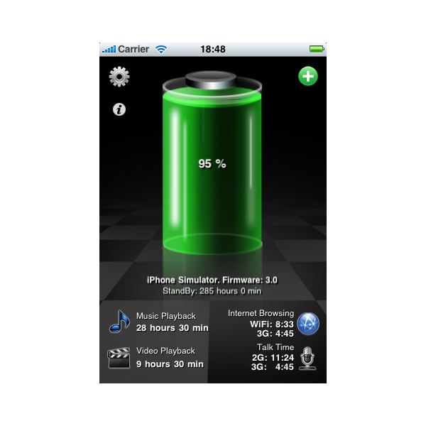the best iphone battery monitoring apps iphone battery app reviews to extend battery life. Black Bedroom Furniture Sets. Home Design Ideas