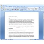 Microsoft Word is a feature packed, highly functional word processor
