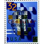 Computer Technology Stamp