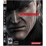 MGS4 game cover