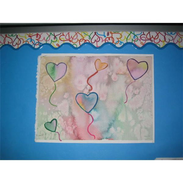 math worksheet : a watercolor valentine s day painting lesson painting hearts for  : Valentine Art Project For Middle School