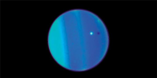 Cold Blue Uranus