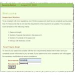 Figure 7: Password entry