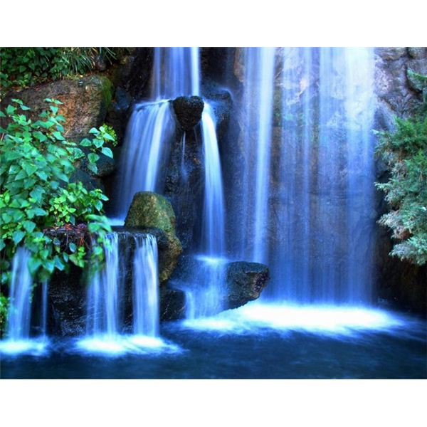 Free waterfall wallpaper for windows desktops for Waterfall it
