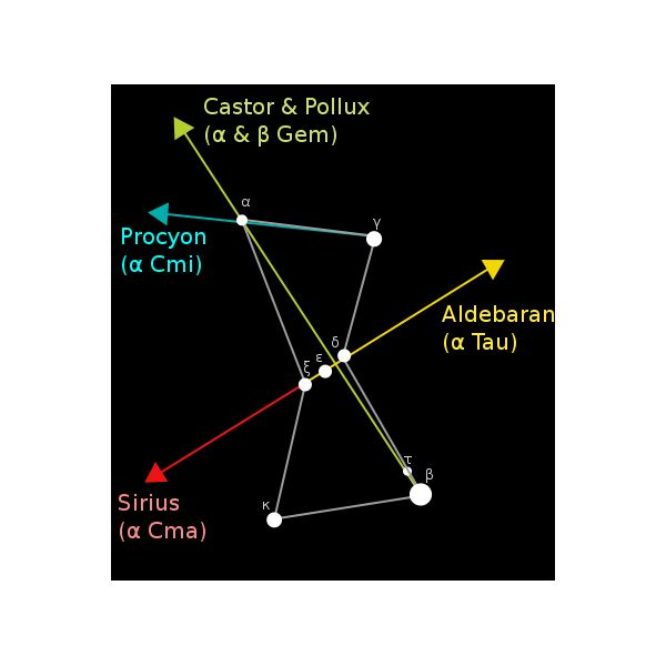 General information amp facts about the constellation of orion the