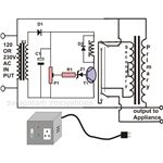 Automatic Voltage Stabilizer Circuit Diagram, Image