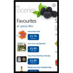 Buying Groceries Online with the Windows Phone Tesco App