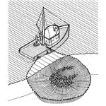 Purse seine illustration
