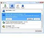 Removing .NET Framework Asst. in Firefox browser