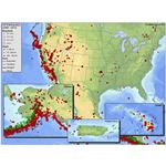 Seismicity of the U.S. from the USGS website
