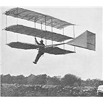 Whitehead in his Glider